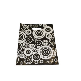 Bolsa de plástico con asas troqueladas, modelo círculos