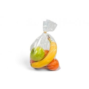 Bolsa de plástico transparente sin cierre