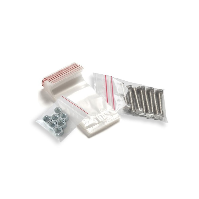 Bolsas de plástico fabricadas en polietileno con cierre cursor