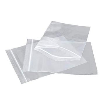 Bolsas transparente con cierre zip