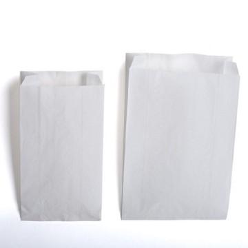Bolsas de papel blanco para bollería - panadería