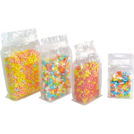 Bolsas de plástico con fondo plano