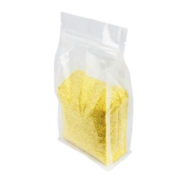 Bolsas de plástico transparente con fondo plano