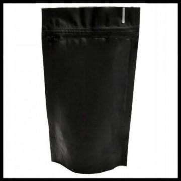 Bolsa doypack negro mate - con cierre...