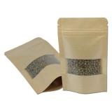 Bolsas Doypack, envases flexibles con cierre para alimentación